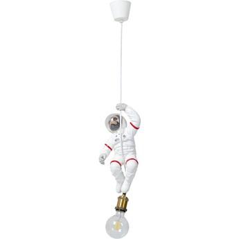 Lampa wisząca Monkey Astronaut 20x37 cm biała