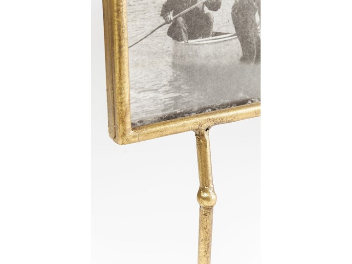 Ramka Duck Feet pozioma 19x38 cm złota Ramka na zdjęcia Kolor Złoty