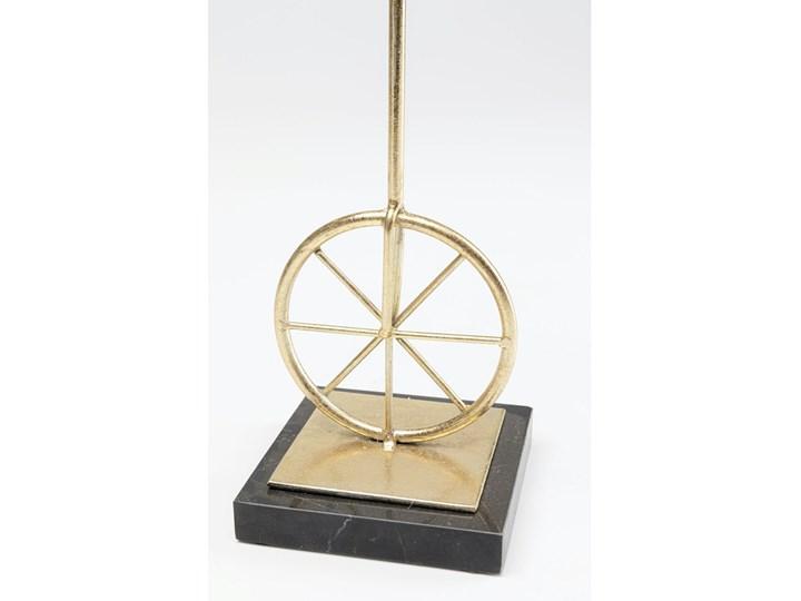 Figurka dekoracyjna Circus Monkey 14x48 cm złota Kolor Biały Tworzywo sztuczne Marmur Metal Kategoria Figury i rzeźby