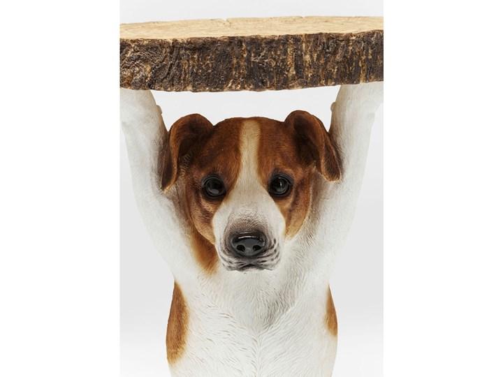 Stolik kawowy Animal Mr. Jack 35x33 cm kolorowy Kolor Biały Kategoria Stoliki i ławy