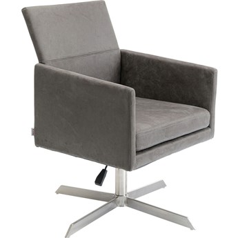Fotel obrotowy New York 55x87 cm szary