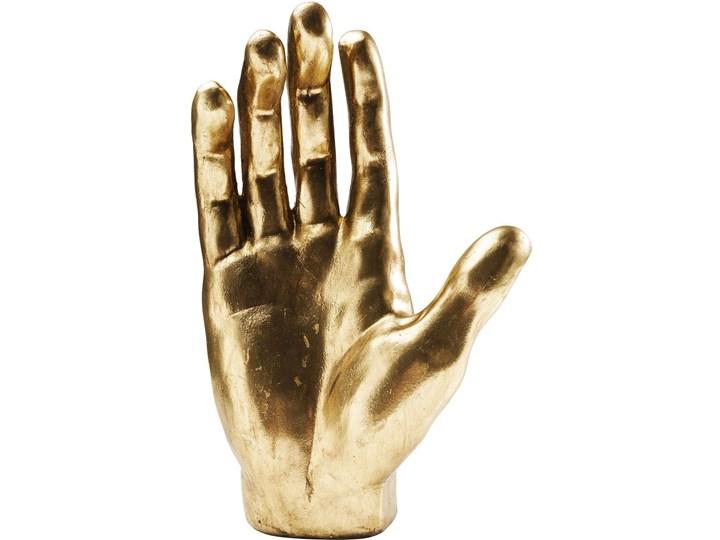 Figurka dekoracyjna Mano 23x35 cm złota Kategoria Figury i rzeźby Kolor Brązowy
