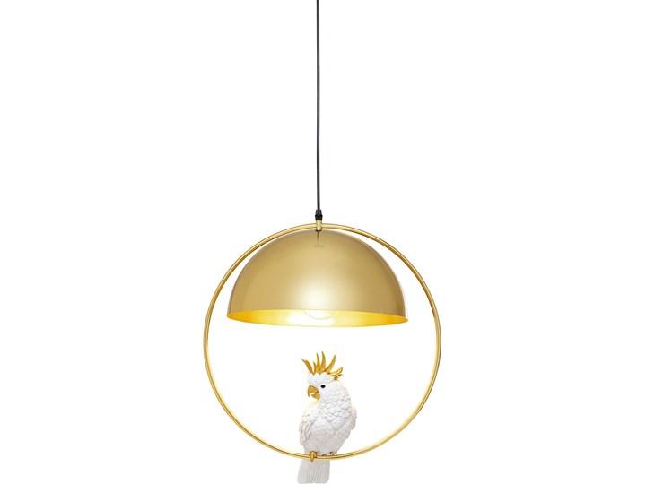 Lampa wisząca Cockatoo 46x60 cm złota Kategoria Lampy wiszące Styl Industrialny