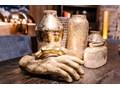 Figurka dekoracyjna Mano 23x35 cm brązowa Kolor Brązowy Kategoria Figury i rzeźby