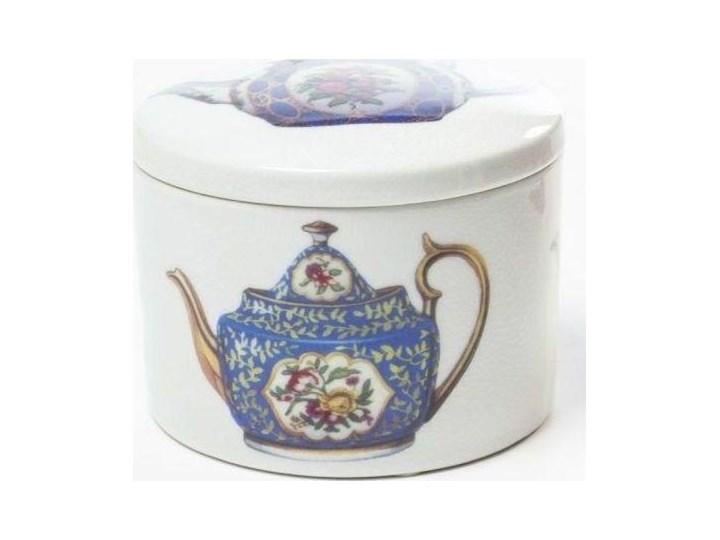 Pojemnik Tea Pot Ø12x9 cm Kategoria Pojemniki i puszki