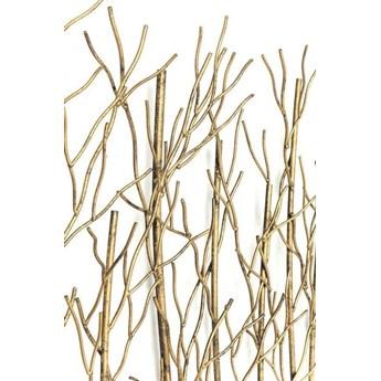 Wieszak Bush 89x83 cm czarno-złoty