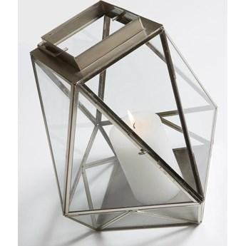 Latarenka Folk 22x30 cm srebrna