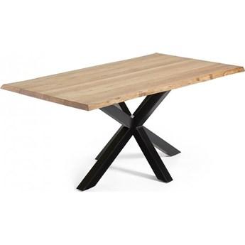 Stół Arya 180x100 cm drewniano-czarny