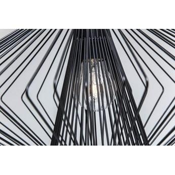 Lampa wisząca Modo Wire 44x24 cm czarna