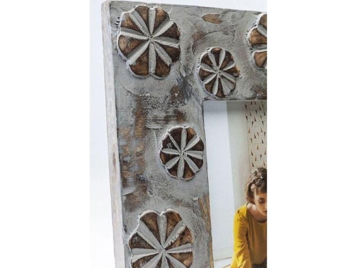 Ramka Mystic Flowers 22x27 cm szaro-złota Kategoria Ramy i ramki na zdjęcia Pomieszczenie Salon