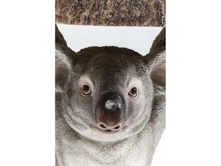 Stolik kawowy Koala Ø33 cm kolorowy Tworzywo sztuczne Drewno Kategoria Stoliki i ławy Kolor Szary