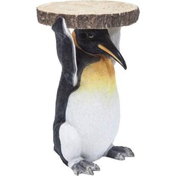 Stolik kawowy Animal Mr. Penguin 35x33 cm kolorowy