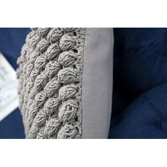 Poduszka dekoracyjna Kissen Cosy I 45 cm szara
