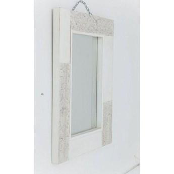 Lustro wiszące Sweet Home 100x80 cm białe