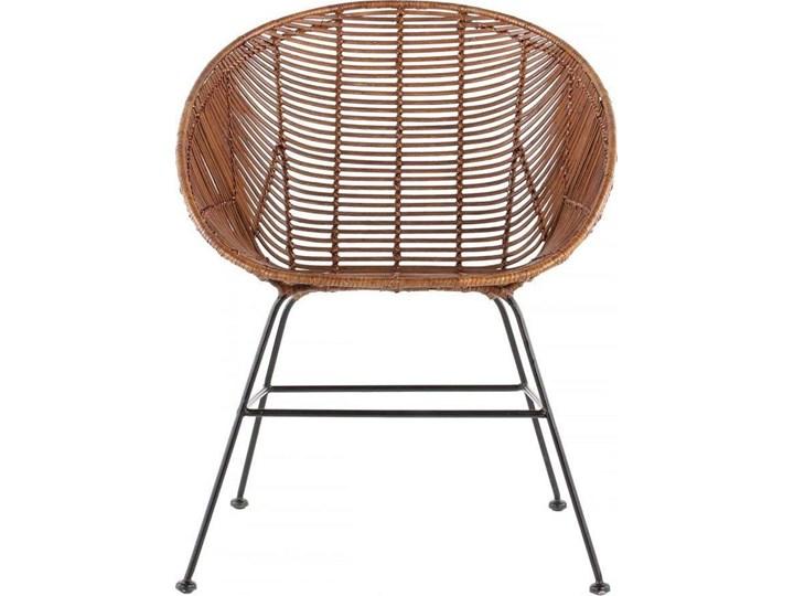 Krzesło Retro 66x85 cm Kategoria Krzesła kuchenne Kolor Brązowy