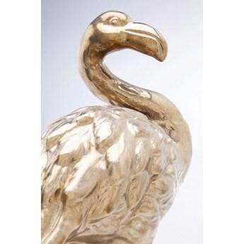 Figurka dekoracyjna Flamingo Front 26x51 złota