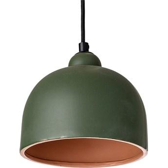 Lampa wisząca Stoneware Ø18x16 cm zielona