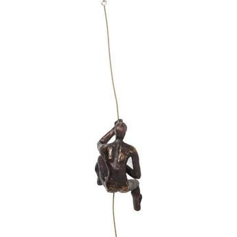Dekoracja ścienna Climber Rope 14x23 cm