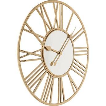 Zegar ścienny Giant Ø80 cm złoty