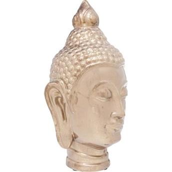 Figurka dekoracyjna Head Asia 24x45 cm złota