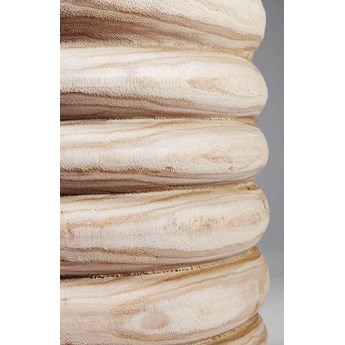 Wazon Tornitura Swing 26x39 cm drewniany