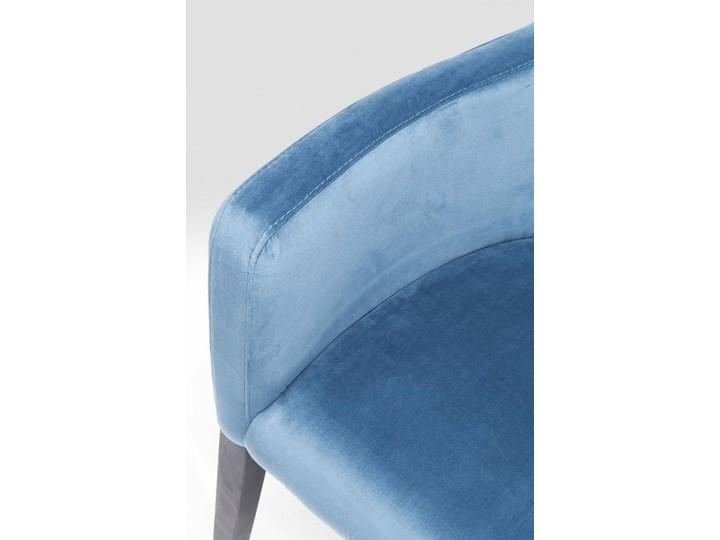 Krzesło z podłokietnikami Mode Velvet 60x87 cm turkusowe Wysokość 60 cm Welur Z podłokietnikiem Drewno Wysokość 70 cm Styl Nowoczesny Tapicerowane Szerokość 60 cm Głębokość 70 cm Tkanina Pomieszczenie Biuro i pracownia