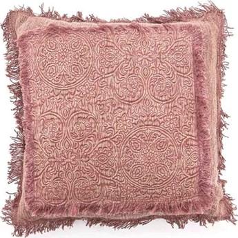 Poduszka dekoracyjna Floret A 45x45 cm różowa
