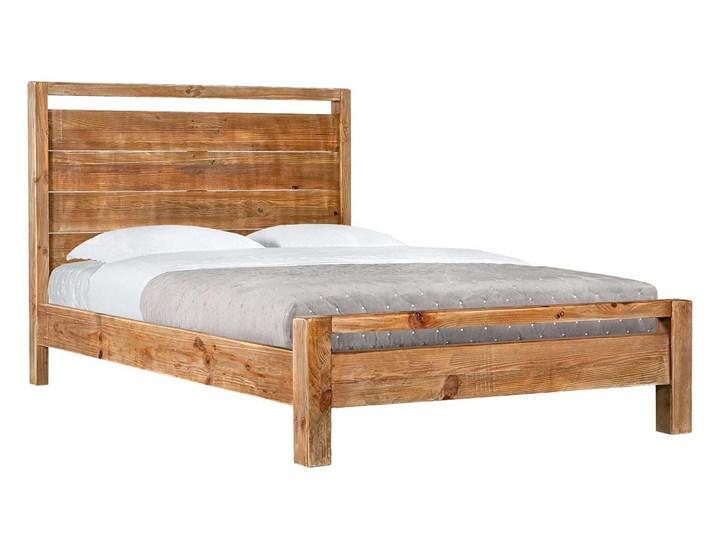 Łóżko 120x200 BUCOLIC Łóżko drewniane Kategoria Łóżka do sypialni Kolor Brązowy