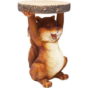 Stolik Animal Mini Squirrel Ø25x35 cm kolorowy