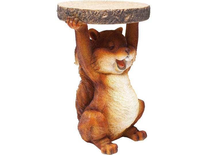 Stolik Animal Mini Squirrel Ø25x35 cm kolorowy Styl Nowoczesny