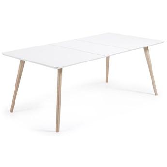 Stół rozkładany Quatre 160-260x100 cm biały