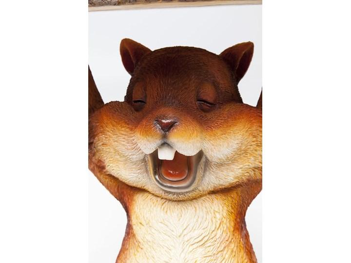 Stolik Animal Mini Squirrel Ø25x35 cm kolorowy Kształt blatu Okrągłe