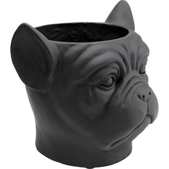 Doniczka Bulldog 33x38 cm czarna