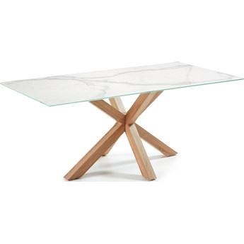 Stół Arya 180x100 cm biała porcelana