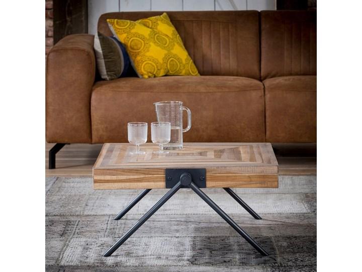 Stolik kawowy Balance 70x70cm drewniany Kategoria Stoliki i ławy Drewno Rozmiar blatu 70x70 cm