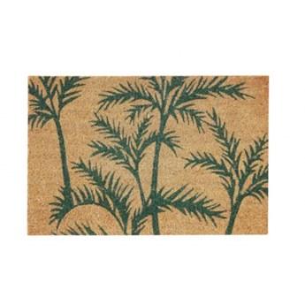 Wycieraczka z logo zielone Palmy