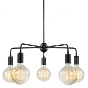 KODY RABATOWE  MDM3386/5 BK Malene Lampa wisząca Italux 5x40W E27 czarna