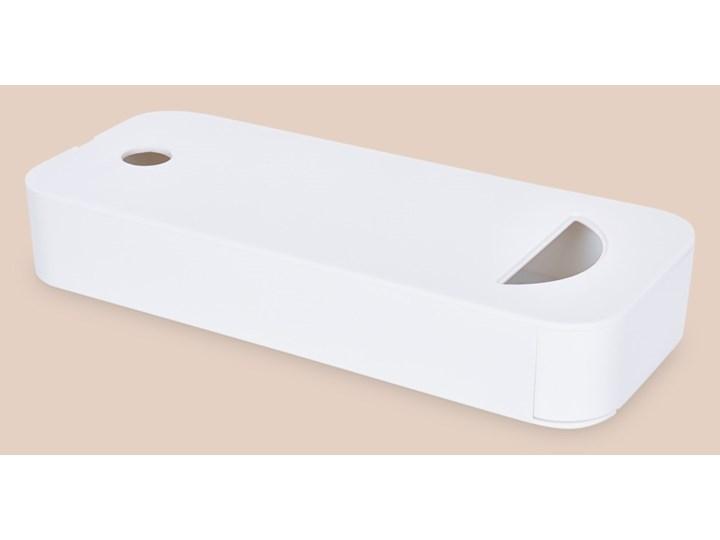 Tajna szufladka/skrytka Kolor Biały Tworzywo sztuczne Kategoria Pojemniki i puszki