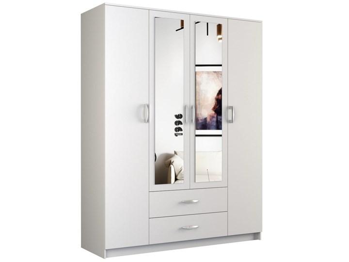 Szafa Walter z lustrem 160 cm / Biel Kategoria Szafy do garderoby