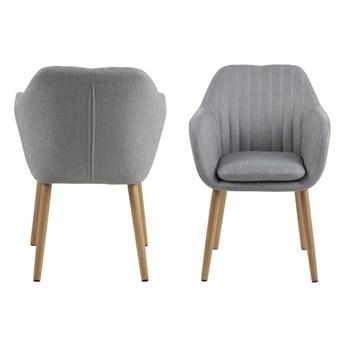 Krzesło Emilia Light Grey - Meb24.pl