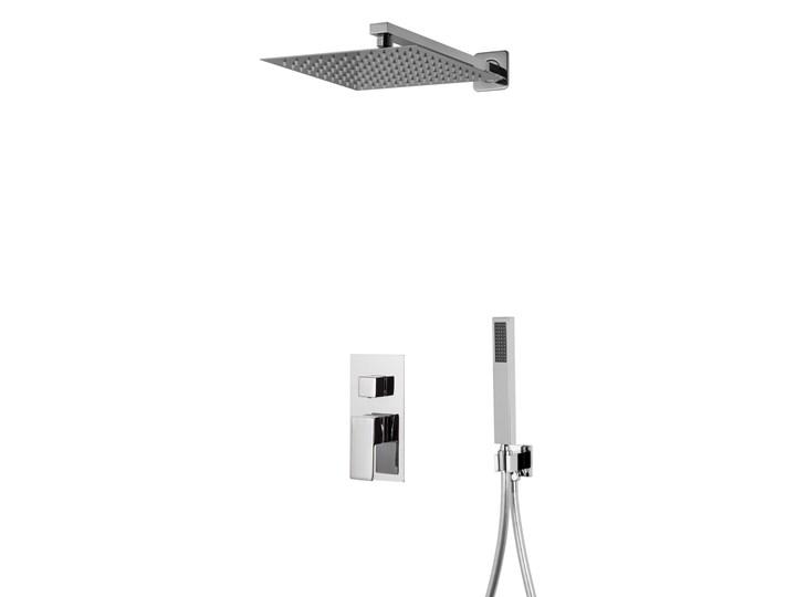 Prysznicowy zestaw podtynkowy Corsan Z01MCH chromowany Kategoria Zestawy prysznicowe Wyposażenie Z słuchawką