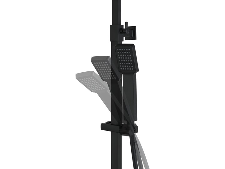 Kolumna prysznicowa Corsan Ango CMN019 Wyposażenie Z deszczownicą