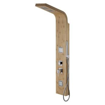 Corsan Bao B022 bambusowy z chromowanym wykończeniem i termostatem