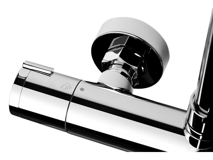 Kolumna prysznicowa Corsan Lugo CMN016 Wyposażenie Z słuchawką Wyposażenie Z drążkiem