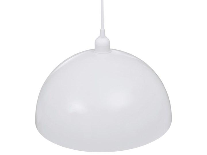 Białe regulowane lampy wiszące 2 sztuki - E985-Noris Styl Nowoczesny Metal Lampa z kloszem Kolor Brązowy