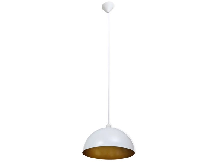 Białe regulowane lampy wiszące 2 sztuki - E985-Noris Lampa z kloszem Styl Nowoczesny Metal Styl Skandynawski