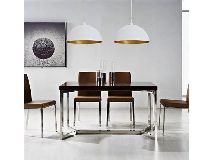 Białe regulowane lampy wiszące 2 sztuki - E985-Noris Metal Lampa z kloszem Kolor Biały