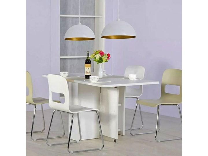 Białe regulowane lampy wiszące 2 sztuki - E985-Noris Lampa z kloszem Metal Styl Skandynawski