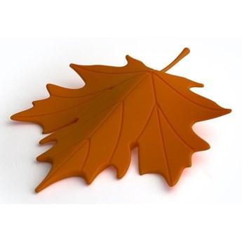 bloker, stoper do drzwi jesienny liść AUTUMN pomarańczowy QUALY
