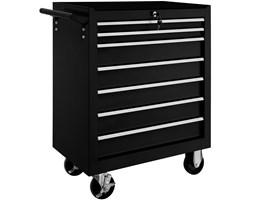 Wózek narzędziowy warsztatowy 7 szuflad czarny